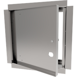 Recessed Access Door with Drywall Bead Flange and Cam Latch