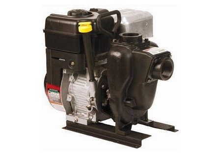 "Banjo 1 - 1/2"" Cast Iron Self-Priming Centrifugal Pump with 3.5 HP Briggs Engine"