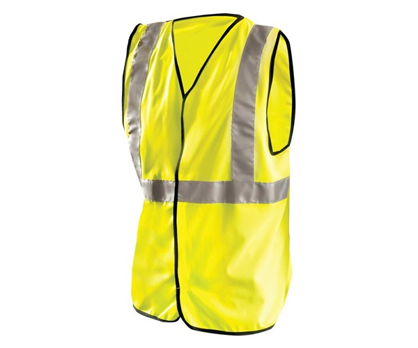 High Visibility Classic Solid Standard Safety Vests