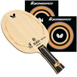 Zhang Jike Super ZLC FL Proline with Bryce High Speed