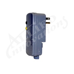 GFCI: 15AMP 110V 90° PLUG WITHOUT CORD