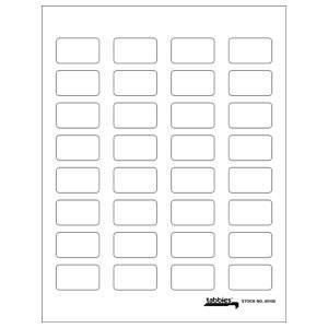 Tabbies - Labels-U-Create Blank Label Packs