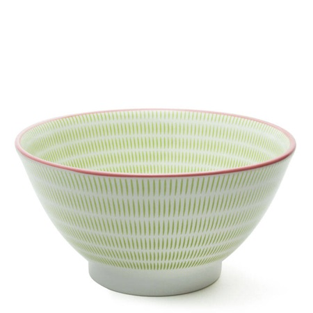 "Sen Colors 7.5"" Noodle Bowl - Green"