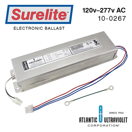 Aquafine 43474-1 Equivalent Replacement Ballast 120 / 240v AC