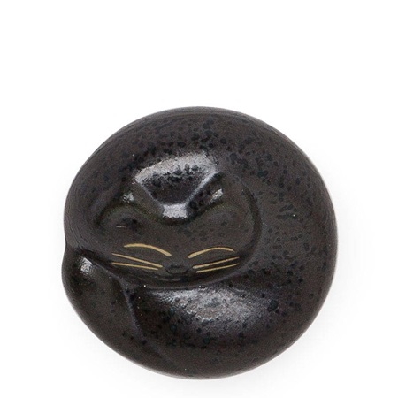 Chopstick Rest Black Cat