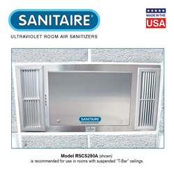 SANITAIRE® RSCS280A Recessed Ceiling Mount Sanitizer