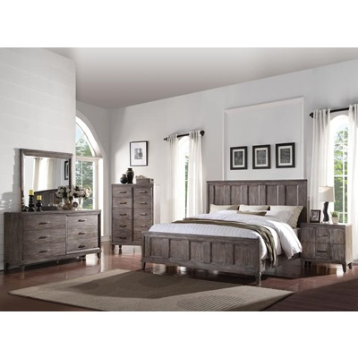 23890Q BAYONNE QUEEN BED