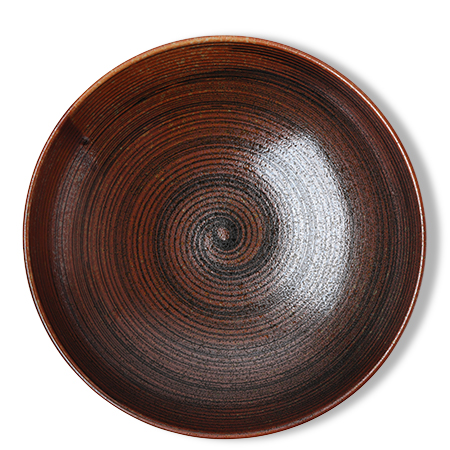 "Sabi Brush 11.25"" Shallow Bowl"