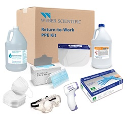Return-to-Work PPE Kits (Weber Scientific)