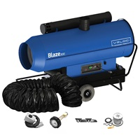 Veloci Blaze 300 Mobile Indirect Heater - Package
