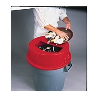 San Jamar 32 Gallon KatchAll Tableware Retrievers