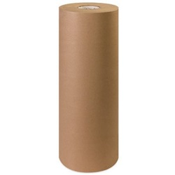 "24"" X 1200' 30 LB BROWN KRAFT PAPER ROLL"