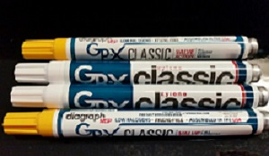 Did you know that Diagraph now has 2 versions of the GPX Classic Marker?