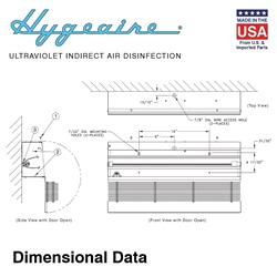 Hygeaire Dimensional Data