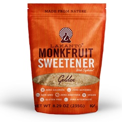 Lakanto ® Monkfruit Sweetener Golden 8 oz