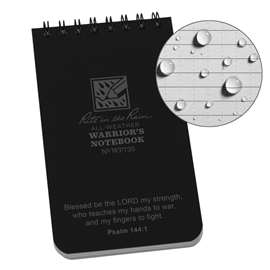 WARRIOR'S NOTEBOOK