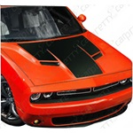 2015-2016 Dodge Challenger Solid Hood Kit