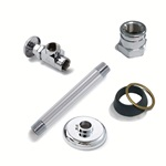 LF159FN5: Angle Closet Supply with Set Screw Flange