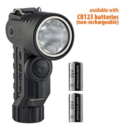 Streamlight Vantage 180 X Helmet Mounted, Right Angle Firefighter LED Flashlight with Lithium Batteries- Black