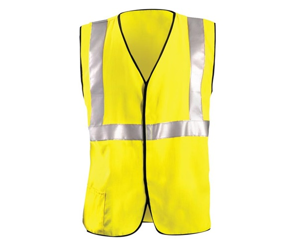 Flame Resistant Single Stripe Solid Vest
