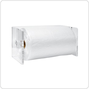 Wet Bag Dispenser, Lucite