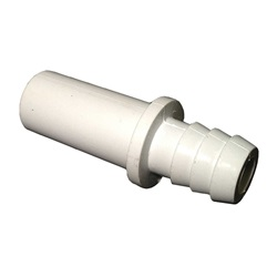 "CHECK VALVE: 3/8"" RIBBED BARB"