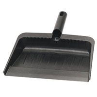 "Carlisle 12"" Rubberized Dust Pan"