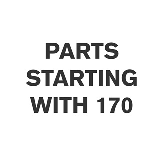 Parts Starting With 170