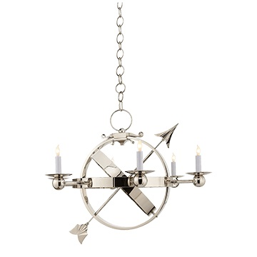 Arrow Sphere Chandelier