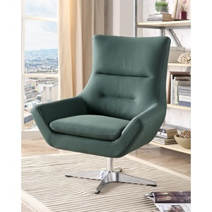 59732 GREEN ACCENT CHAIR