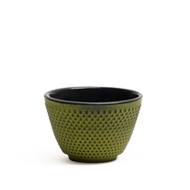 CAST IRON TEACUP - GREEN