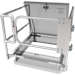 "36"" x 36"" Roof Hatch Safety Railing with Gate"