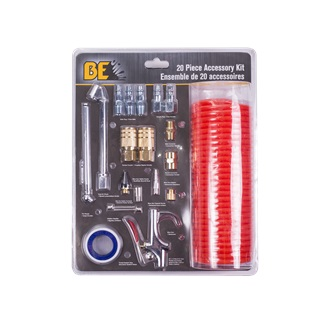 20PC PNEUMATIC ACCESSORY KIT
