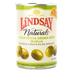 Olives, Green Pitted - 6oz (Case of 12)