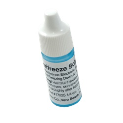 Antifreeze Solution, 1/4 oz bottle
