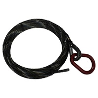 "7/8"" x 91' Roll Off Cable with Pear Ring"