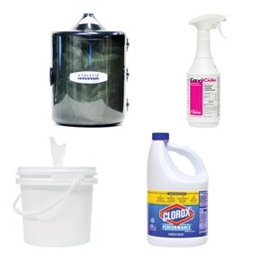 Equipment Wipes & Cleaning