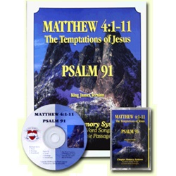 Thy Word - Temptations of Jesus/Psalm 91 - 1 Book w/CD