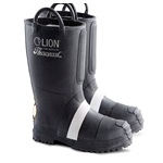 "Hellfire - Men's 14"" Felt Insulated Rubber Bunker Boot"