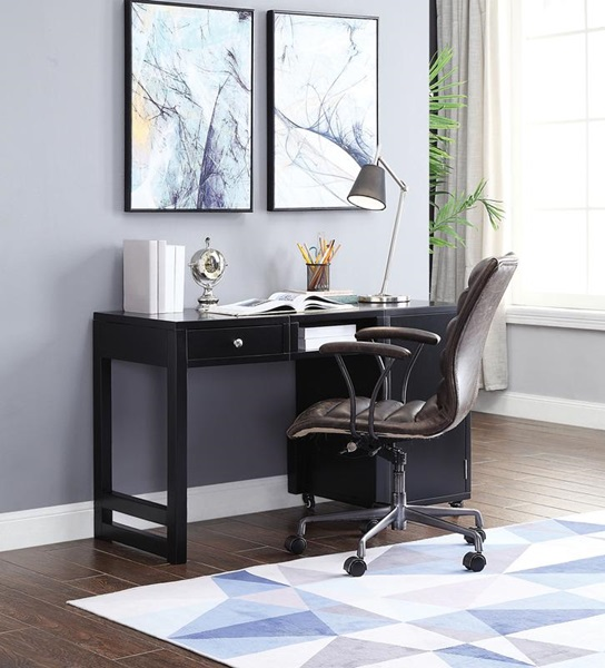 Acme Furniture 92830 Black Desk