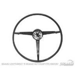 1967 Standard Steering Wheel Dark Red