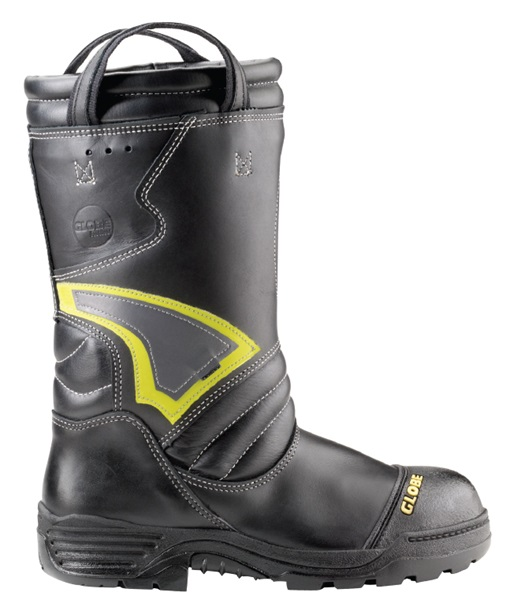 Globe Supreme 14 Leather Pull On Structural Fire Boot