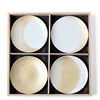 "Gold Moon 4.75"" Plate Set of 4"