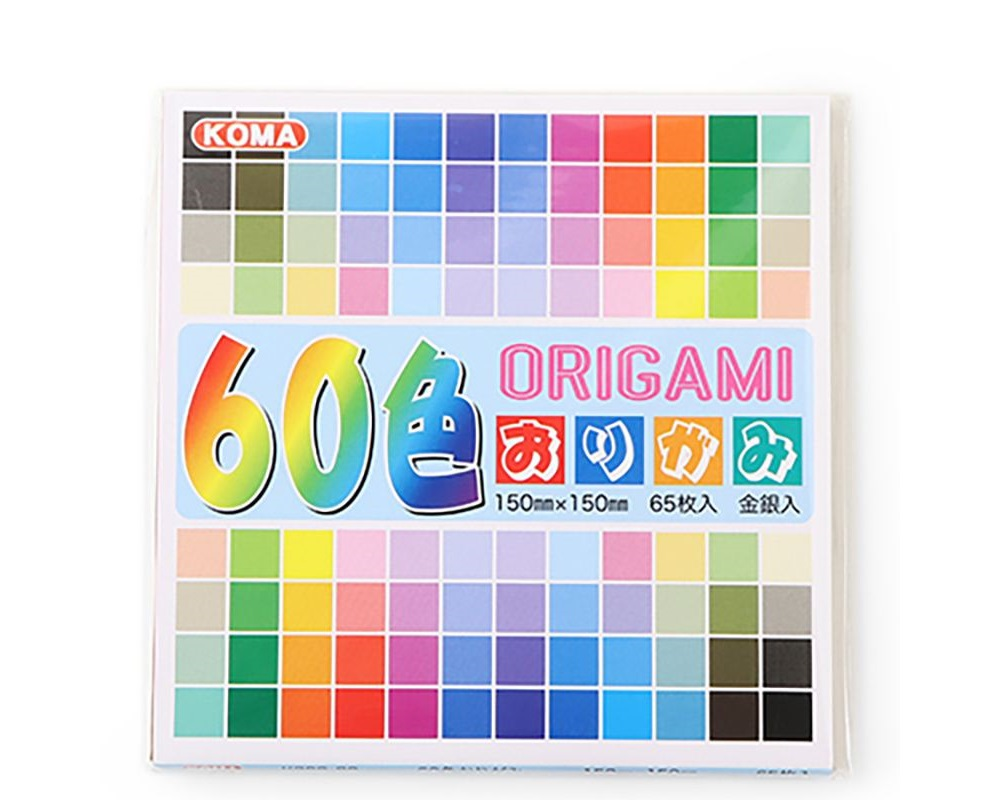 "Origami Paper 6"" Assorted"