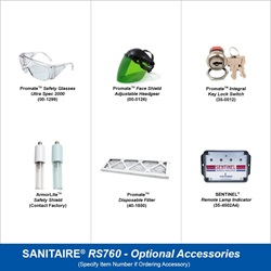 Sanitaire Model RS760 Optional Accessories