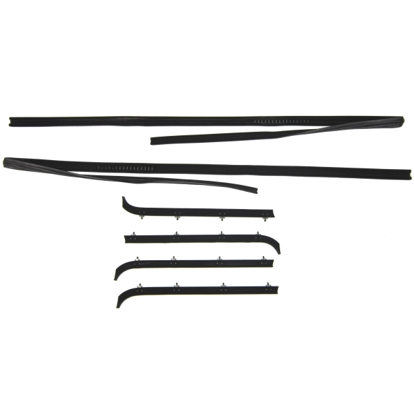 Steele Rubber Products Window Felt And Run Channel Kit