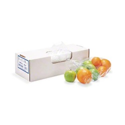 "9 X 15"" .7 MIL CLEAR POLY FOOD BAG, LOW DENSITY 1000/CS"