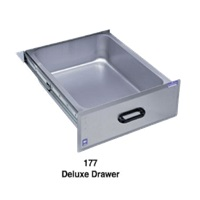 Duke Manufacturing 177LK Deluxe Drawer Stainless Steel Front