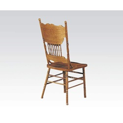 02185A-C ASSEMBLED SIDE CHAIR W/O BOX""
