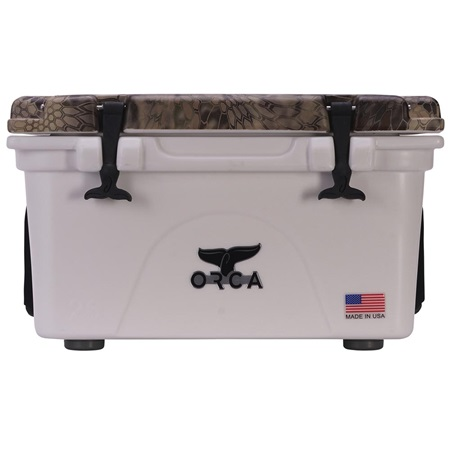 Kryptek Highlander Camo Lid White 26 Quart